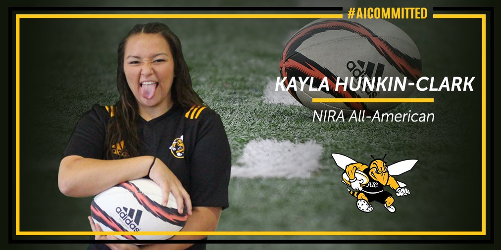 AIC Women's Rugby, Kayla Hunkin-Clark