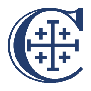 Christendom College blue logo