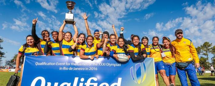 Columbia Women Rugby Sevens