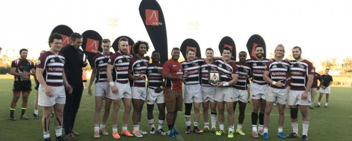 Kutztown University Rugby Wins 2017 Ariel Re Bermuda 7s