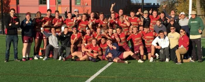 Norwich University Rugby 2018 Northeast Champions