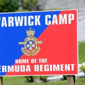 Warwick Camp Entrance in Bermuda