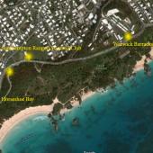 Map from Barracks to Horseshoe Bay
