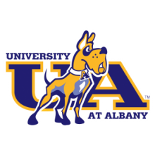 UAlbany Men's Rugby logo is a dog