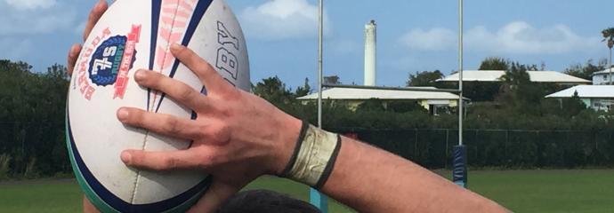 Throwing Bermuda 7s Ball