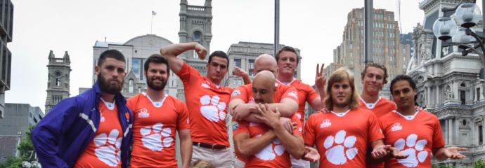 Clemson Rugby 2016 in Philly