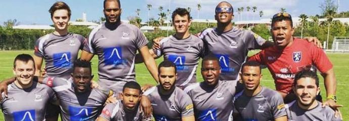 Ariel Re Bermuda All Stars with Waisale Serevi