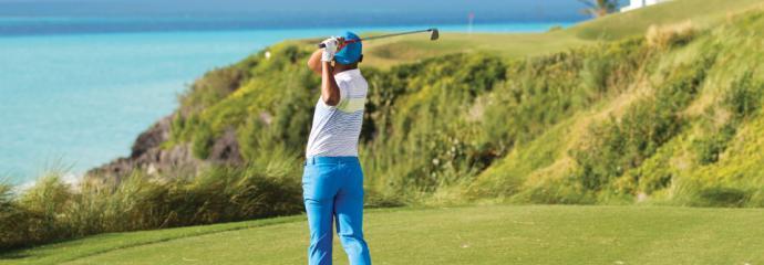 Golfing in Bermuda