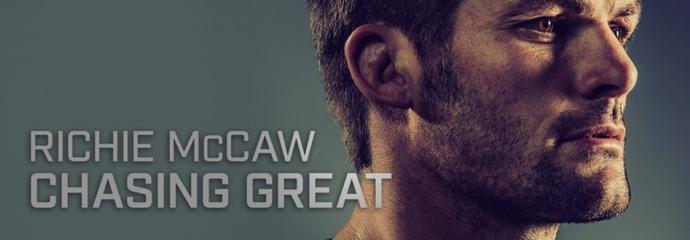 Richie McCaw Documentary 'Chasing Great' Banner
