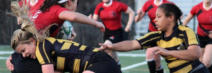 AIC Women's Rugby, Haley Schafer