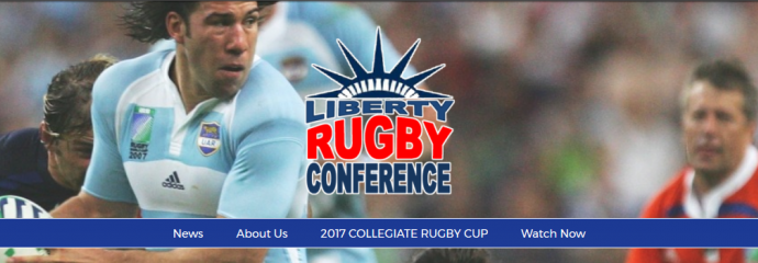 Liberty Rugby Conference Website