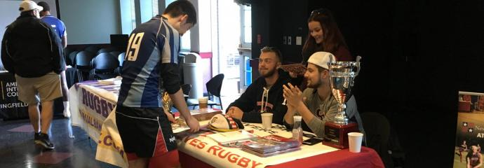 Rugby PA Hosts College Fair for HS Rugby Players