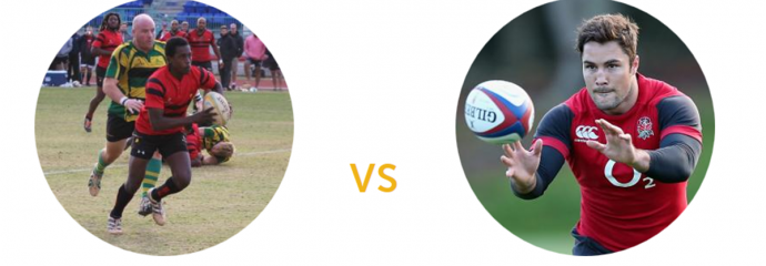Urugby matchup