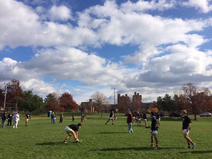Bonnies win 36-7 over the University at Buffalo