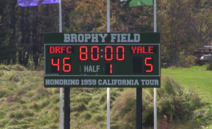 Homecoming Victory for Dartmouth over Yale