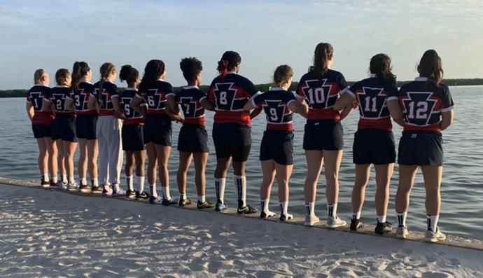 EPRU college women by the beach in Florida