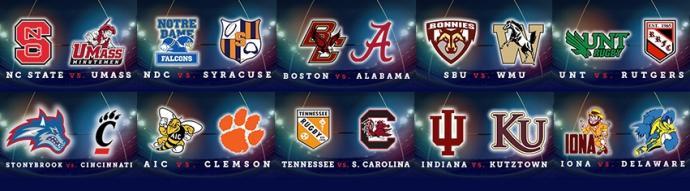 ACRC Bowl Series: Team Logos