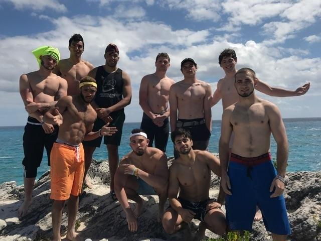 Iona College enjoys the surf and sand