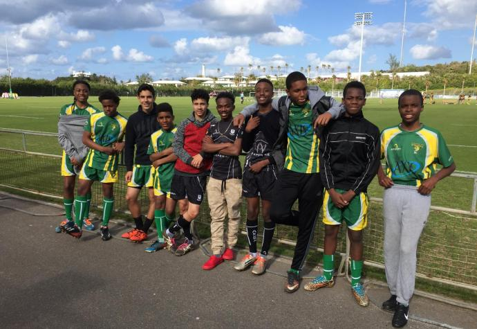Bermuda Youth at the National Sports Centre