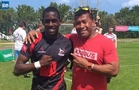 Mikle Dill and Waisale Serevi