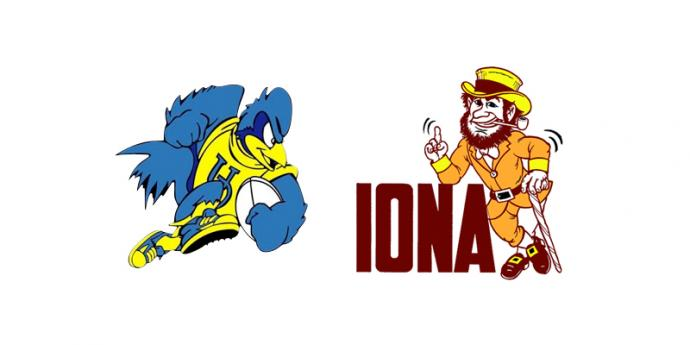 Blue Hens vs Iona rugby