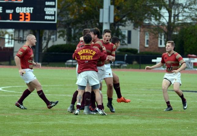 Norwich advances to second straight USA Rugby Division II Final Four