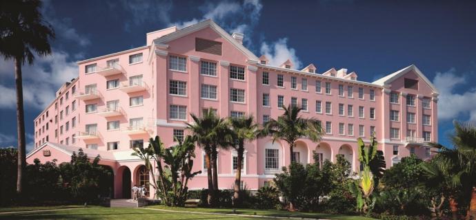 Hamilton Princess Hotel Front
