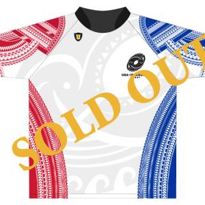 Sold Out Graphic of USA Islanders Jersey