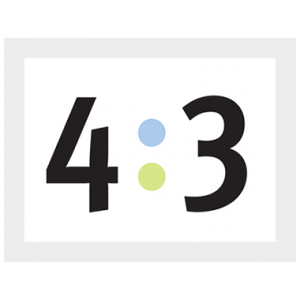 4:3 logo